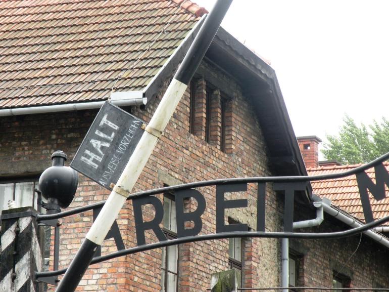 Main Gate - Auschwitz-Birkenau Museum - Krakow
