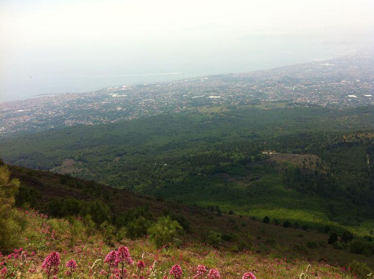 Mt Vesuvius - Naples