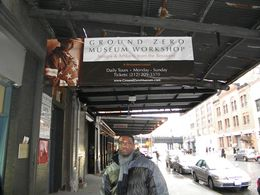 It was great to meet the founder of the Museum he stopped by and signed autographs and took pictures. This is me standing outside., Jerome F - December 2009
