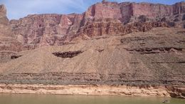 This is a photo from near the helipad inside the canyon. The scale of the boat still doesn't quite prepare you for the view. , smeghead25 - April 2016