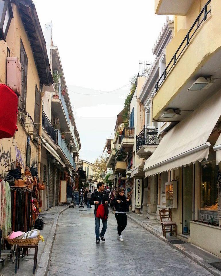 The Plaka - Athens