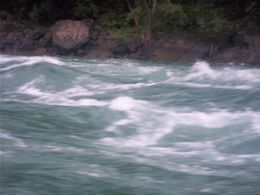 Class 5 rapids of Lake Niagara. , Anais M G - July 2013
