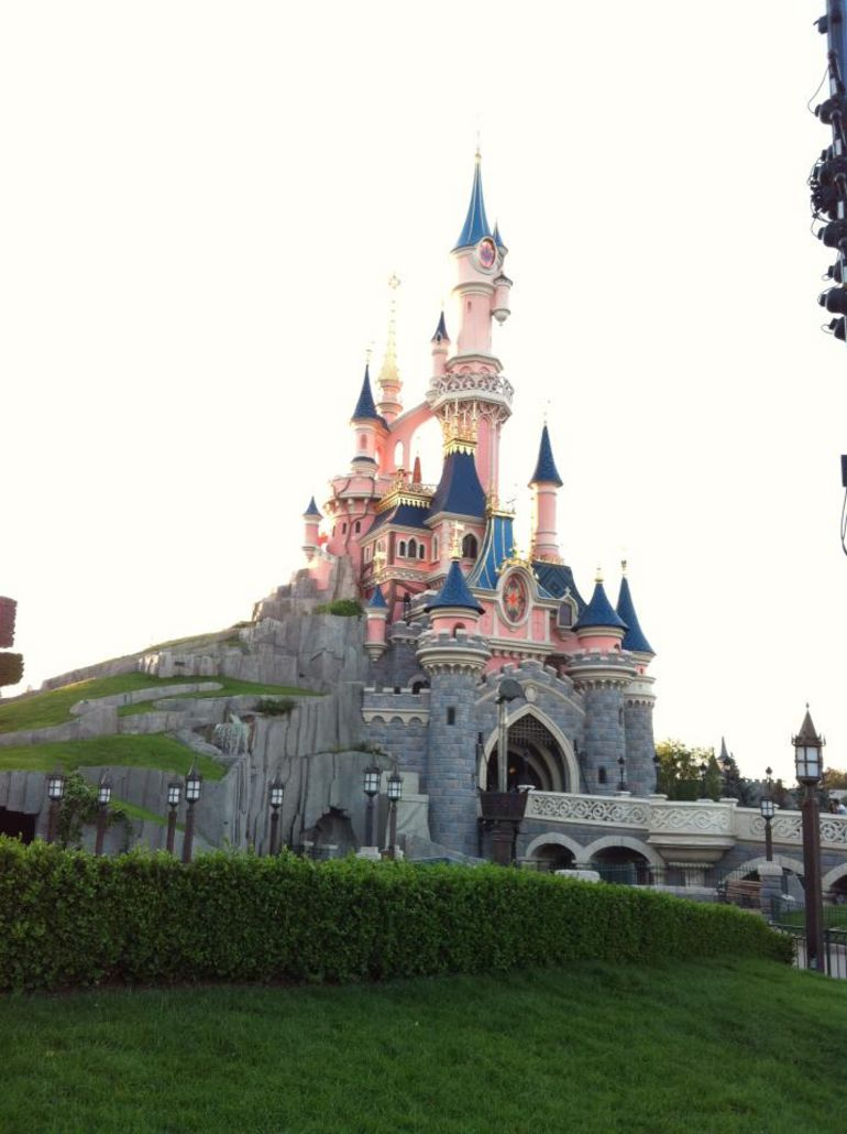 The Sleeping Beauty Castle in Disneyland Paris - Paris