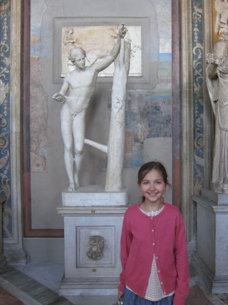 Statues galore! - Rome
