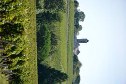 View of the surrounding countryside from the first Château on our tour. , Mark - October 2014