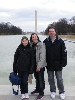 Vue depuis le Lincoln Mémorial , Damien D - March 2013