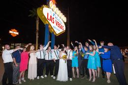 Group Shot of our Wedding at the Sign , Alexa P - October 2016