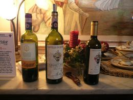 3 wines for tasting in Chianti., Chatuphum S - January 2008