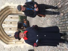 At the Tower of London with Beefeater and Danny, our tour guide. , STEPHEN M - November 2016