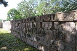 The commemorative wall of those sacrificed , Bina F - February 2017
