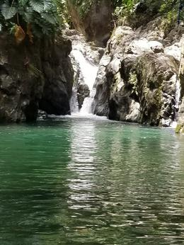 Waterfall and swimming area we hiked to. , Wendy H - May 2017