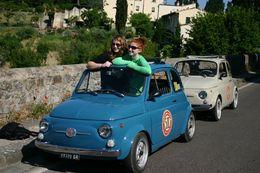Vintage Fiat 500 tour - March 2013