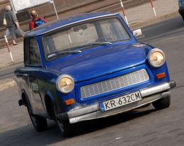 A Trabant in Krakow - September 2011