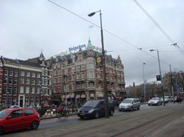 Buildings in Amsterdam. - March 2008