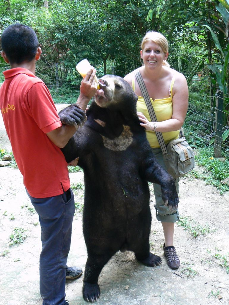 Caroline and Sunny Bear - Kuala Lumpur