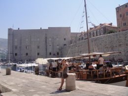 Dubrovnik Old Town Walking Tour, Blanca - July 2012
