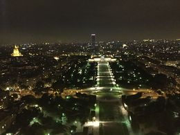 Stunning view from the Eiffel tower , Jezmi A - October 2015