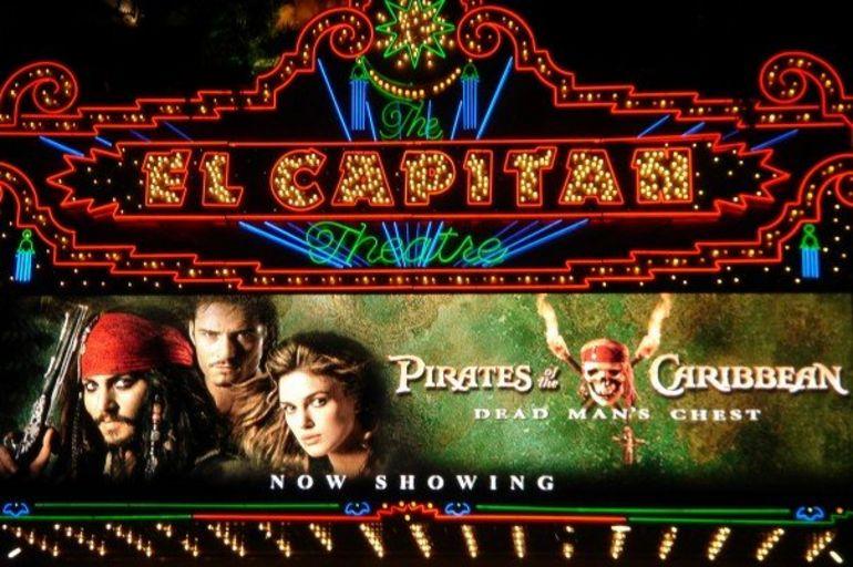 El Capitan Theatre in Hollywood - Los Angeles