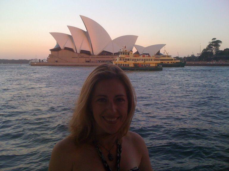 Enjoying the view and fresh air - Sydney