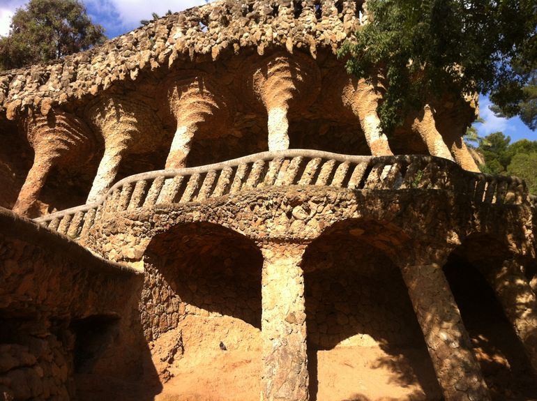 Guell Park (Parc Guell) - Barcelona