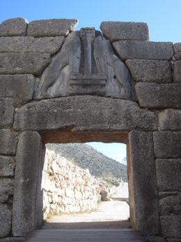 Archaeological site o Mycenae. , rovisco - November 2011