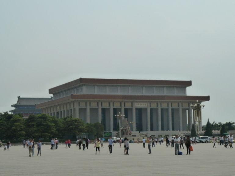 Mao Zedong's mausoleum - Beijing