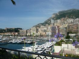 Looking out over Port Hercules in Monaco, AlexB - June 2012