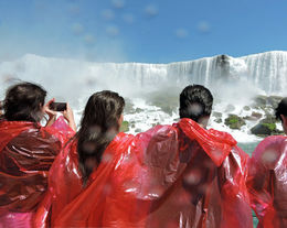 Standing in front of the falls with the spray in your face, a dream come true. , Mark M - July 2014