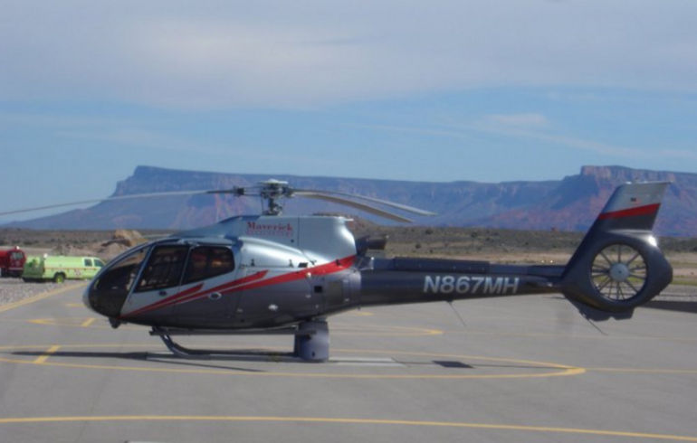 Our helicopter - Las Vegas