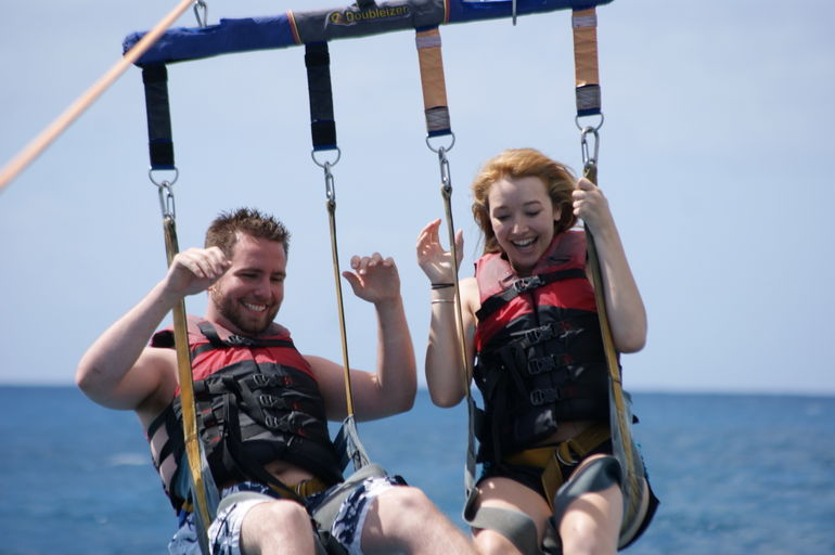 Parasailing on Maunalua Bay - Oahu