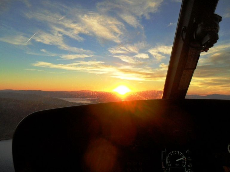 Retour couche de soleil Grand Canyon - Las Vegas