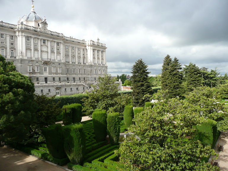Royal Palace and Gardens - Madrid