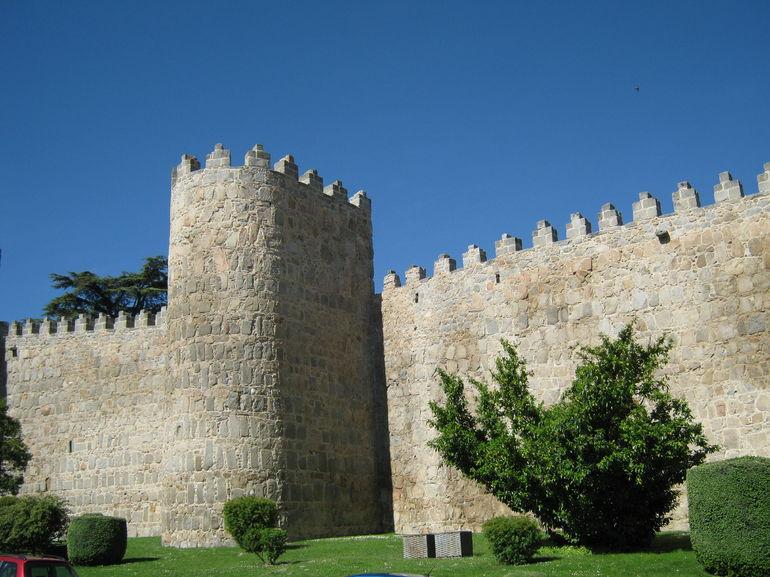Walls of Avila - Madrid