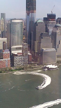Gorgeous day for a helicopter tour of NYC. , M Chandler E - April 2012
