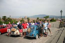 Vintage Fiat 500 group - March 2013