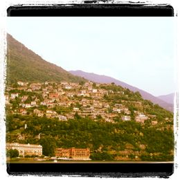 One of the amazing views on the boat of Lake Como , Staci C - July 2012