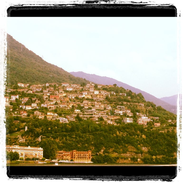 A town on Lake Como - Milan