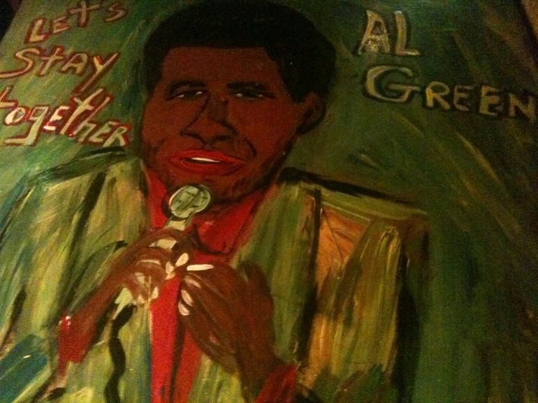 al green table - Memphis