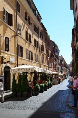 almost at the Spanish Steps, Jeff - July 2013