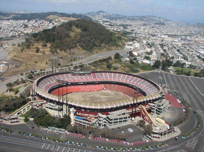 Candlestick Park Stadium - San Francisco