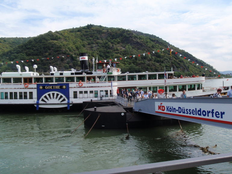 Cruising the Rhine - Rhine River