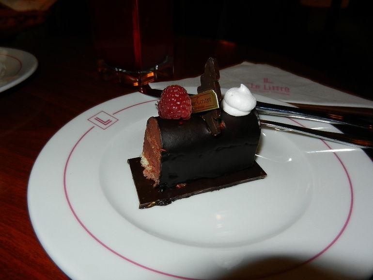 Delicious dessert from the Gourmet Christmas Tour of Paris - Paris