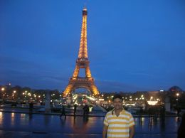 The illuminated tower during nightime, Mahesh Mane - April 2010