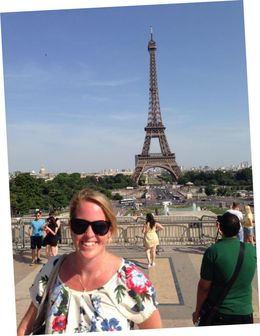 20th wedding anniversary, superb meal in 58 restaurant eiffel tower , Mark B - July 2014