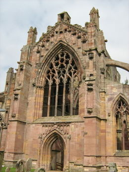 Melrose Abbey , Dianne S - September 2012