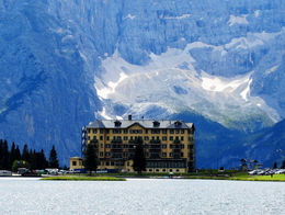 Grand Hotel Lake Misurina. , Richard B - September 2014