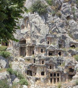 Lycian Tombs, Agnes R - June 2010