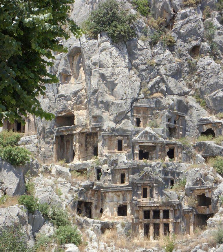 Lycian Tombs - Antalya