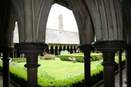 View of the cloisters , John W - June 2012