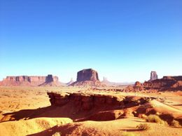 Scenery shots in Monument Valley, World Traveler - October 2012
